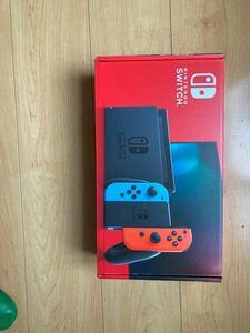 任天堂【商品内容】Nintendo Switch 新モデル ニンテンドースイッチ 本体  【色】ネオンレッド&ブルー