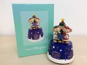 ディズニー TDR ディズニーシー クリスマス2012 オルゴール フィギュア 箱あり もみの木 3A37 【60】