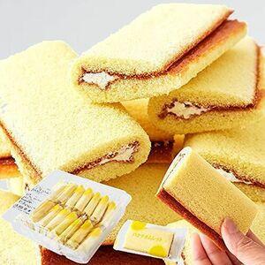 新品 目玉 バナナオムレット 天然生活 J-55 お徳用 バナナケ-キ (17個) 個包装 洋菓子 スイ-ツ おやつ