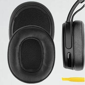 未使用 新品 イヤ-パッド Geekria Q-NW QuickFit 互換性 Skullcandy Crusher Wireless, Crusher Evo Wireless, Crusher ANC, Hesh 3