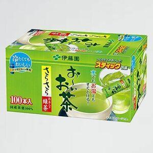 新品 未使用 お-いお茶 伊藤園 B-9Q スティックタイプ 0.8g×100本 抹茶入りさらさら緑茶