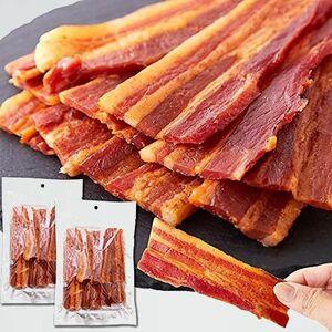 新品 目玉 【辛口】炙り焼き豚バラジャ-キ-2袋セット 天然生活 P-KH ビ-ル おやつ (160g×2袋) 豚ばら お徳用 おつまみ
