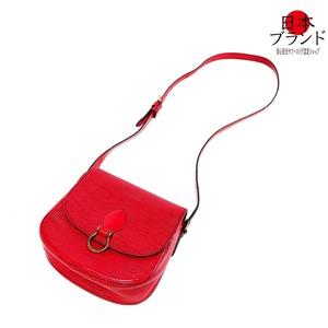 【金沢店】綺麗 LOUIS VUITTON ルイヴィトン エピ ミニサンクルー 赤 レッド コクリコ M51244  ショルダーバッグ 斜め掛け