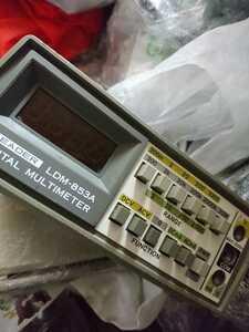 LEADER デジタルマルチメーター LDM-853A ジャンク 本体のみ 送料無料H01