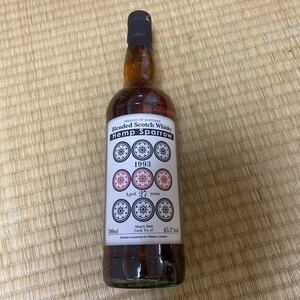 ヘンプスパローブレンデッドスコッチウイスキー1993 27年 45.2%
