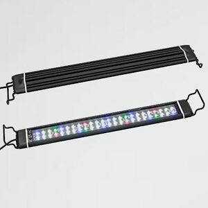 未使用 新品 アクアリウムライト 水槽ライト M-Q2 長寿命 (45~63CM) LEDライト 水槽照明 24W 48LED 2つの照明モ-ド スライド式45CM