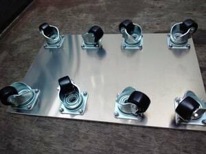 тяжелый груз транспортировка * алюминиевый плоская тележка *8 колесо *700×450* выдерживаемая нагрузка 1500Kg