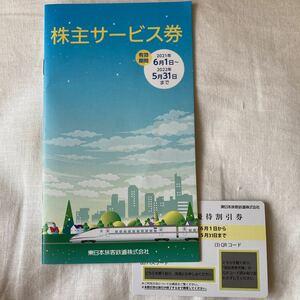 JR東日本 株主優待券 & 株主サービス券