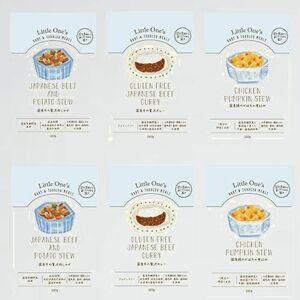 好評 新品 無添加 リトルワンズ D-Z8 (Aセット (6個入り)) 国産有機野菜・天然食材の離乳食(ベビ-フ-ド) 12ヶ月頃から