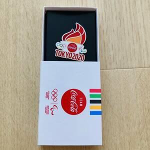 コカコーラ 東京オリンピック2020記念ピン 聖火