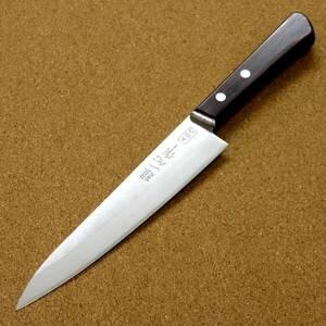 関の刃物 ペティナイフ 15cm (150mm) 関兼次 雅一心 三層鋼 本割込 ローズウッド 果物包丁 フルーツの皮むき 小型の両刃万能ナイフ 日本製