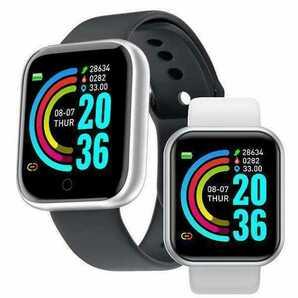 スマートウォッチ スマートブレスレット iPhoneAndroid 歩数計 血圧計 活動量計 心拍計 IP67 多機能 血中酸素 ブラック