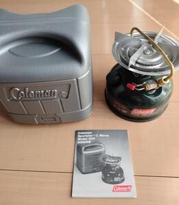 美品 コールマン Coleman 508A シングルバーナー ガソリンストーブ スポーツスター シングルバーナー
