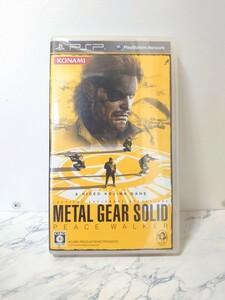 メタルギアソリッドピースウォーカー PSP