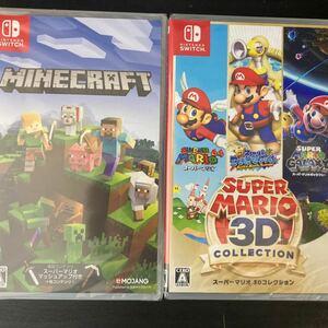 マインクラフト スーパーマリオ 3Dコレクション Nintendo Switch 新品未開封