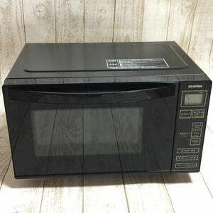 アイリスオーヤマ 電子レンジ IMB-FV1801 18L 単機能 フラットテーブル ヘルツフリー 全国対応 ブラック