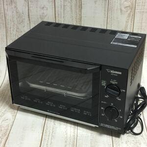 象印 ZOJIRUSHI オーブントースター ブラック EQ-AG22-BA オーブントースター 一人暮らし 学生