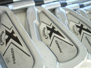 #DO YOUR BEST▲Callaway X-FORGED エックス フォージド 6本set