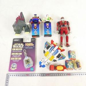 おもちゃ 10点セット スターウォーズ R2-D2 ギガフレンド・ポピニカ PB-86 スーパーマードック ウルトラマン・他 ジャンク 中古■EA130s■