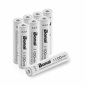 限定1点♪Bonai 単4形 充電池 充電式ニッケル水素電池 8個パック PSE/CEマーキング取得 UL認証済み(高容量11