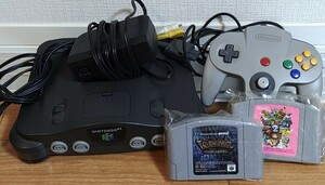 NINTENDO64 ファミコン本体 ニンテンドー64 任天堂64 ソフト Nintendo 旧世代ゲーム機本体