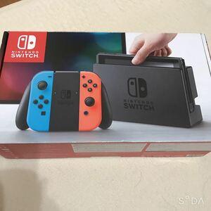 Nintendo Switch ニンテンドースイッチ 付属品と化粧箱 新品未使用 純正品