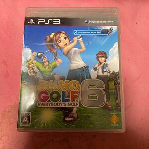 【PS3】 みんなのGOLF 6 [通常版]