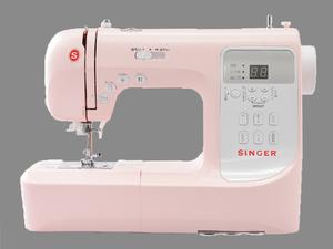 SINGER シンガー●コンピュータミシン SN777αlll 3年保証付き 使い方簡単 すぐに使える付属品付き 生活家電/ピンク/訳有/1円スタート/XB