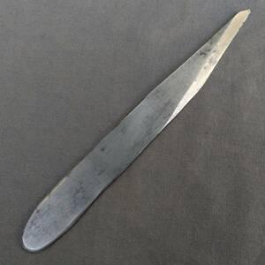 小刀 切出小刀 刃幅約19㎜ 全長約170㎜ 切出ナイフ 工具 刃物 【8496】
