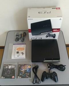 PS3 CECH-2500A +ソフト2作品