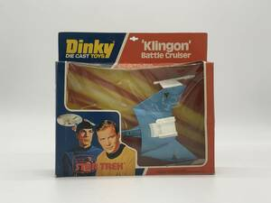 ディンキー スタートレック クリンゴン・バトルクルーザー Dinky STAR TREK Klingon Battle Cruiser 箱入り 353