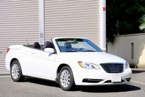 クライスラー200 コンバーチブル 希少車 車検令和5年2月まで 落札価格が 当地乗り出し価格