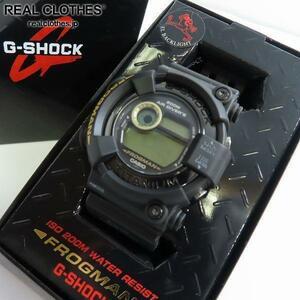G-SHOCK/Gショック FROGMAN MEN IN BLACK 2 フロッグマン DW-8200BM-1T【動作未確認】 /000