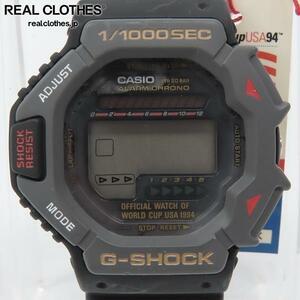 G-SHOCK/G-ショック ワールドカップUSA1994記念 ブラックモデル/DW-6294-1B【動作未確認】 /000