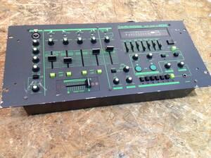 yw210920-014E7 audio-technica AT-MX200DJ ミキサー オーディオテクニカ ジャンク品