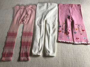 Pink tights 95 3 pieces set