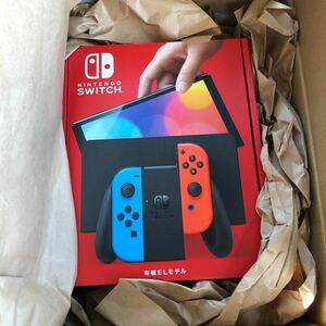 新品 Nintendo Switch 有機ELモデル ネオンブルー ネオンレッド 任天堂 ニンテンドースイッチ