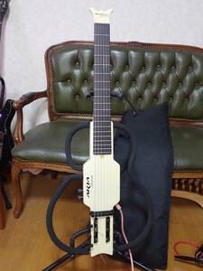 極美品 完動 ARIA アリア Sinsonido サイレントギター エレガット