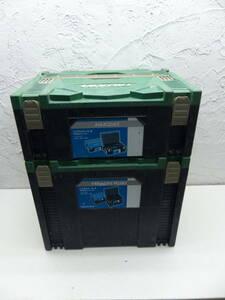 HIKOKI(日立工機)システムケース(連結工具収納ケース)システム2 システム4 倒産した建設会社からの引き揚げ品