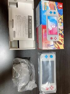 ニンテンドースイッチ ライト 本体 Nintendo Switch Lite ザシアン・ザマゼンタ スイッチライト及び付属品