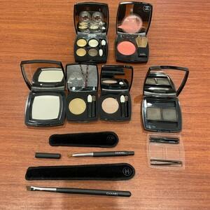 708 CHANEL 新品と未使用品と使用品のおまとめセット アイシャドウ アイブロウ チーク ハイライト 化粧筆