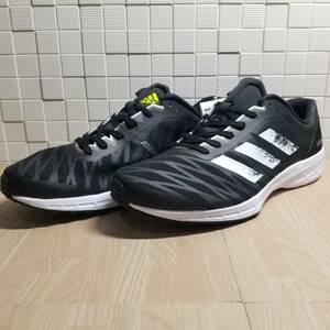 送料無料・新品未使用!!アディダス adidas ランニングシューズ スニーカー / ADIZERO RC 3 M / 黒 ブラック 27.5cm