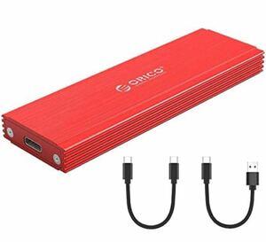 USB-C NVME M.2 SSDケース対応 USB 3.1 Gen2 10Gbps 外付けケース UASPサポート