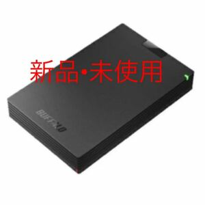 バッファロー HD-PCG2.0 ポータブルHDD 2TB ブラック