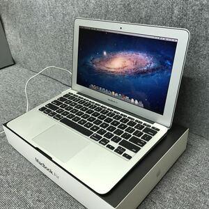 美品◎Apple☆MacBook Air 11.6 MD214JA/A (Mid2011 CTOモデル)☆Core i7 1.8Ghz/RAM4GB/SSD256GB/USキーボード☆