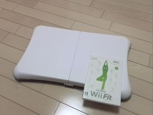 送料込み・Wii Fitセット
