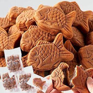 新品 未使用 たい焼き 天然生活 J-WG スイ-ツ 菓子 30個 (10個×3袋) あんこ やわらか ミニ 鯛焼き 和菓子 大容量 個包装 おやつ