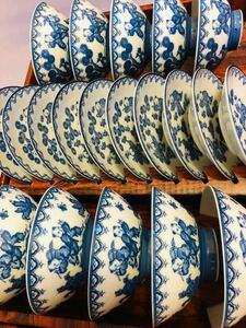 末使用品 唐子遊び絵  10客セット。碗口径約 :12cm、高さ約:5.5cm 。お皿 直径約:12cm