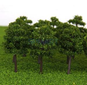 【送料680円】1/250■Zゲージ■模型用樹木 ジオラマ 40本セット■19143193