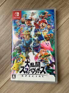 大乱闘スマッシュブラザーズSPECIAL Nintendo Switch Switchソフト